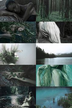 sjörå (scandinavian guardian of the lake) aesthetic (more here)