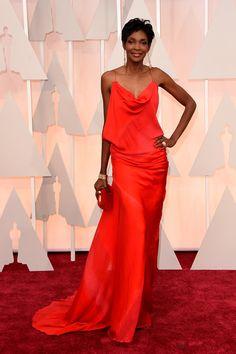 Oscar 2015-Roshumba Williams