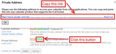 how to: add google calendar as start screen live tile