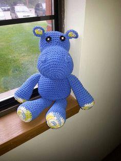 Hugo the Hippo by HappilyEverCrafter23 on Etsy, $15.00