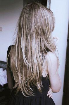 perfect straight hair