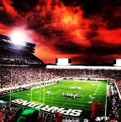 michigan state spartans | Tumblr afrattini. --that's how the sky really looked I saw it it was sweeet