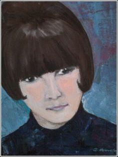 Meine Tochter hat mich gemalt, Jugendbild My Daughter, Young Adults, Kunst, Pictures