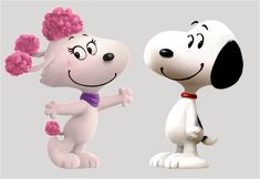 "Snoopy and Fifi from ""The Peanuts Movie"""