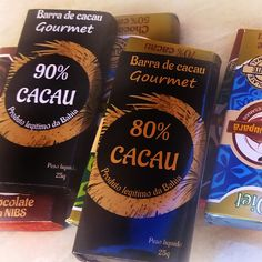 😎Qual das duas você prefere? Barra de cacau gourmet 90% ou 80%?  👉Deixa sua resposta nos comentários👈  #Jupara #vaiencarar #barrasgourmet
