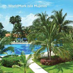 The beautiful WorldMark Isla Mujeres in Mexico