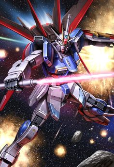Arte Gundam, Gundam Seed, Cool Anime Wallpapers, Mobile Suit, Spaceship, Sci Fi, Code Geass, Robots, Destiny