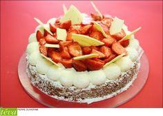 Le pastel chocolat blanc et piment d'espelette de James Berthier