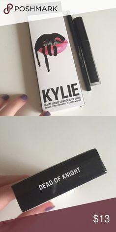 Dead of knight look alike lip kit Look alike lip kit black lipstick Kendall & Kylie Makeup Lipstick