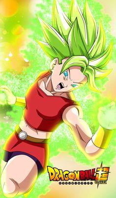 Kale Super Saiyan by JemmyPranata - More at https://pinterest.com/supergirlsart #dragon #ball #super #dragonball #dbs #anime #girl #fanart