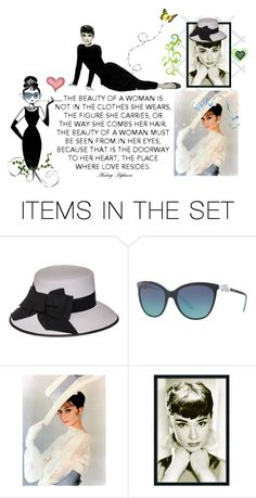 """Audrey ❤The  Eyes are the Door To Your Heart ❤ Audrey Hepburn"" by catfabricsandbuttons ❤ liked on Polyvore featuring art and audrey"