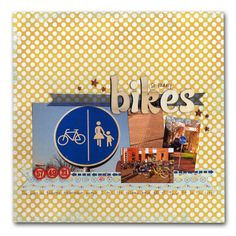 Designer Favorites Kit - Volume 3: Bikes Layout