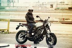 2016 Yamaha XSR900 Unveiled helmet