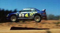 La Subaru di McRae e Valentino Rossi è all'asta