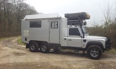 Land Rover Defender 170 Genuine 6x6 Camper Expedition Overland | eBay