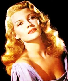 Rita Hayworth in color, mid 1940's