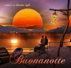 Beautiful sunset at the lake Beautiful Moon, Beautiful Places, Photo Zen, Love Images, Beautiful Pictures, Sunset Gif, Beau Gif, Gifs Amor, Image Couple