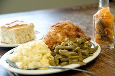 Just what a rainy day calls for, from the Irondale Cafe. #comfortfood #southerncooking