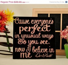 Luck O the Irish SALE Demi Lovato - I Believe in Me,  Expressive Art on Canvas wall decor for Dorm, kitchen, Kids room, family ro on Etsy, $31.96