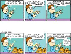 Garfield Minus Garfield on Gocomics.com  1/2/13