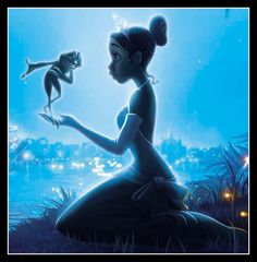 Princess and the Frog - Naveen, in Frog form) and Tiana
