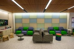The kids care center within the Perelman Emergency Center includes a family-friendly waiting area. Photo: NYU Langone Medical Center