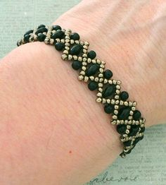 Linda's Crafty Inspirations: Free Beading Pattern - Liz Band