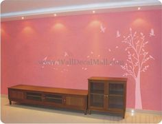 LoveLy Tree And Birds Wall Decals – WallDecalMall.com