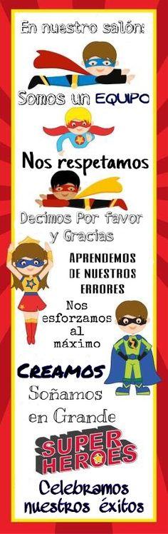 35 Ideas For Superhero Classroom Door Ideas Super Hero Theme Superhero Classroom Decorations, Classroom Rules, Classroom Posters, Classroom Themes, School Classroom, Superhero School Theme, Superhero Bulletin Boards, Superhero Superhero, Future Classroom