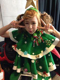 크리스마스~! 촬영중 - 웨이