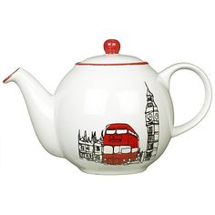 John Lewis London Teapot