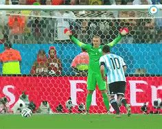 penal de Messi