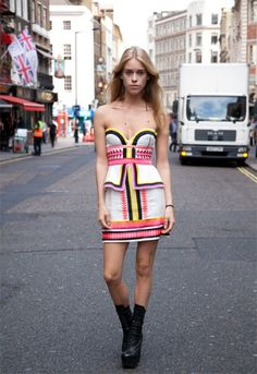 Mary Charteris in Sass and Bide