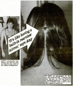 Woman has third eye in back of her head!