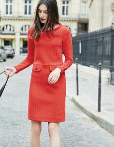 Sixties Jacquard Dress Boden