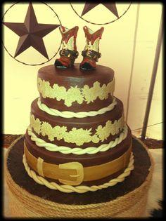 Cowboy Birthday Cake Bake Your Day, LLC - Alexandria, LA www.facebook.com/bakeyourdayllc (318) 229-0299 bakeyourdayllc@hotmail.com