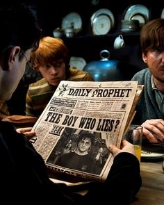 "News sources aren't always accurate. | 13 Lessons About Social Justice From ""Harry Potter"""