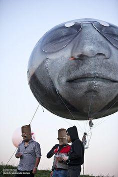 #Exit #festival #live #Serbia #giantballoon