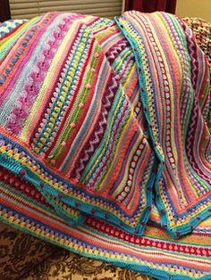 Easy Crochet Blanket, Crochet Ripple, Crochet For Beginners Blanket, Manta Crochet, Afghan Crochet Patterns, Love Crochet, Knitted Blankets, Beautiful Crochet, Crochet Stitches
