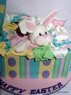 Easter Bunny Cake #Gorgeous #Cake #Bunny Cuteness! :-) We love!