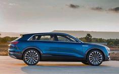 Audi e-tron Quattro concept Audi Q4, Audi Cars, Used Car Lots, Used Cars, Car Images, Car Pictures, Jaguar, Crossover, Citroen Ds5