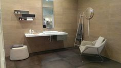 Bathroom for #Ragno #ceramictiles #Bologna 2014