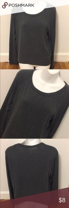 Ambiance Apparel Gray Sweater Women's gray Ambiance Apparel sweater. Great condition, comfortable material. Size large. Could fit small-large because it's a stretchy material. I SHIP SAME DAY OF ORDER ON ALL MY ITEMS! Ambiance Apparel Sweaters