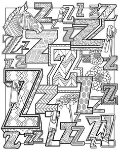 Alphascapes - Dover Publications Weekly Samples