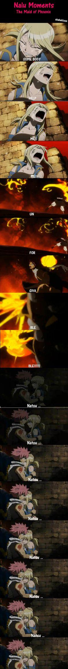 Nalu Moments - The Maid of Phoenix by celestialxbeauty