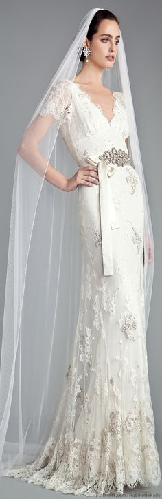 Temperley London Bridal - old fashioned and moderm at the same time!