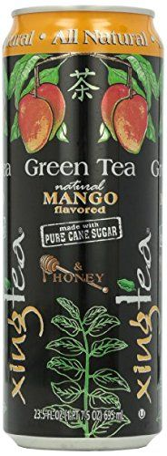 8 Pack - Xing Tea - Green Tea Mango and Honey - 23.5oz   Energy Drink Outlet Sticker *** Check out this great article.