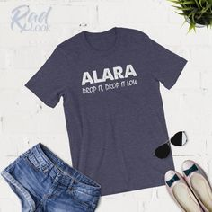 ALARA Drop It Drop It Low - Radiology Shirt - Racerback - Hoodie - Funny Radiology - Radiology Tech - X-Ray Student - Unique Graduation Gift Radiology Student, Radiology Humor, Radiologic Technology, Ultrasound Tech, Nuclear Medicine, Rad Tech, Tech Humor, Tech T Shirts, Drop