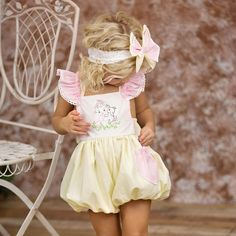 Oh, my cuteness! These adorable embroidered Haute Baby bubbles are in stock and so perfect for Easter! Big sister dresses are available. Free US ship on $50 + layaway plans on $150 with code MLJPaymentPlan #easter #kids #fashion #style #easterbunny #vintagekids