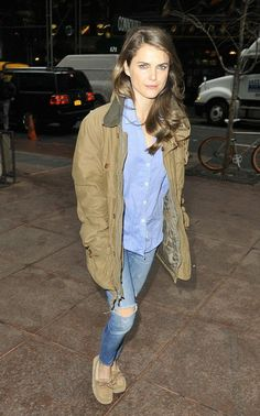 Keri Russell - NYC - January 2013